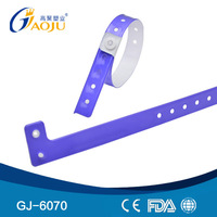 GJ-6070 PVC Material L Shape Adult Size 2012 olympic wristband