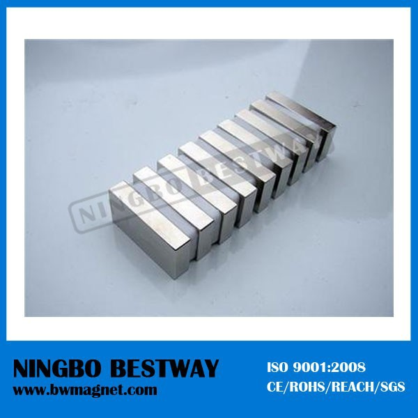 2x1x1 inch strong N50 N52 super neodymium magnets block