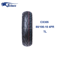 CX305 Dirt Bike Road Racing Tire factory SCOOTER TIRE 80/100-10