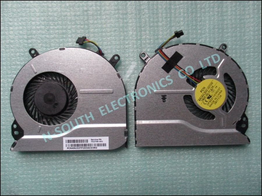 Hot sale laptop cpu cooling fan for hp pavilion 14-b 15-b 702746-001