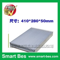 Smart Bes~410*280*50mm Aluminum alloy heat sink, heat sink strip, Casing fin computer case cooling fin