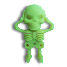 The silicone skulls Creative Gifts usb stick