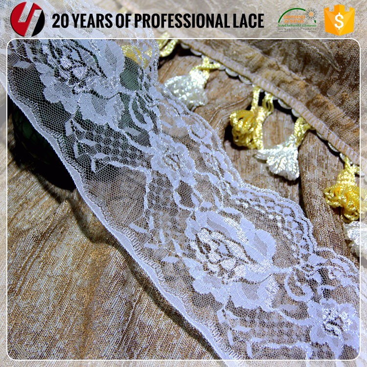 White Soft Voile Latest Design super fine Swiss Lace,top one china african lace