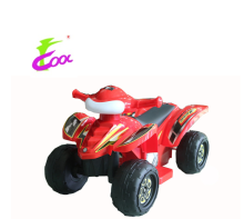 6V Battery Operated Ride On ATV Quad Outdoor Toy for Kids Red Color