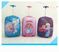 frozen Princess trolley school bags cute cartoon trolley luggage