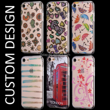 2017 hot selling custom design shockproof case for iphone 7 / 7 plus , tpu imd phone case