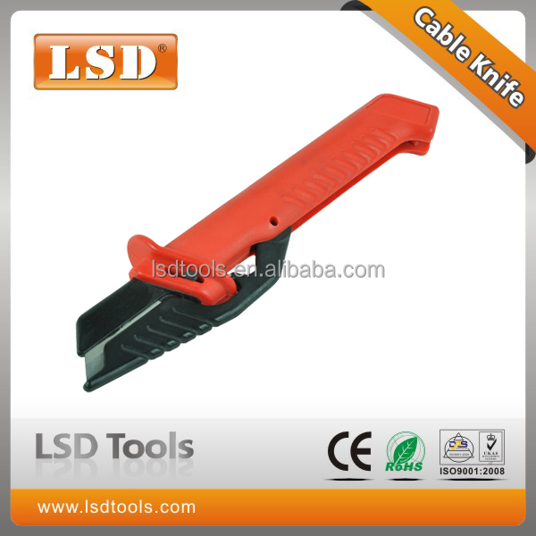 LS-51manual Cable stripper knife German-style Electrical Insulation Stripping Cable Knife