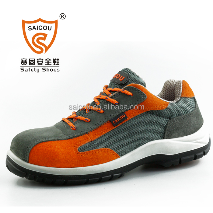 Ladies steel toe safety shoes and steel toe cap safety shoes and walking shoes DC-813