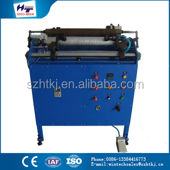 China wholesale merchandise ECR500 Economical plastic pe film /cling plastic pe film rewinding machine sale on line