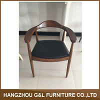 Round Kennedy Chair/ solid wood chair / wood arm chair classical style furniture