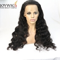 High quality deep wave brazilian hair cuticle aligned hair lace wigs bleached knots full lace wig