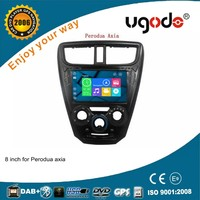 ugode wholesale wince 6.0 system 8 inch Perodua axia car radio dvd gps