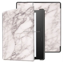 Marble Printing PU Leather Folio Case for Kindle Oasis 2017