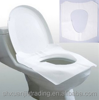 1/2 fold high quality toilet seat cover paper very convenient for travelling