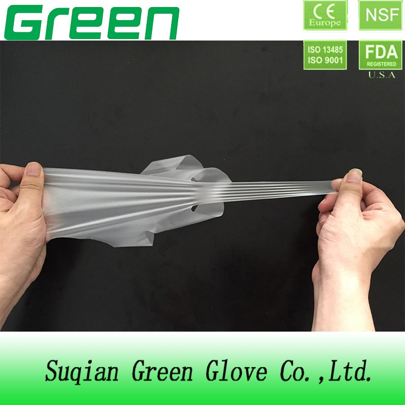 household stretch poly glove