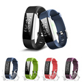 2018 New ID115 Plus HR Smart Bracelet Wristband Tracker Sleep Heart Rate Monitor Wristband For IOS Android