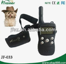 Rechargeable and Waterproof Remote Training and Beeper Collar JF-033A dogs training in lahore