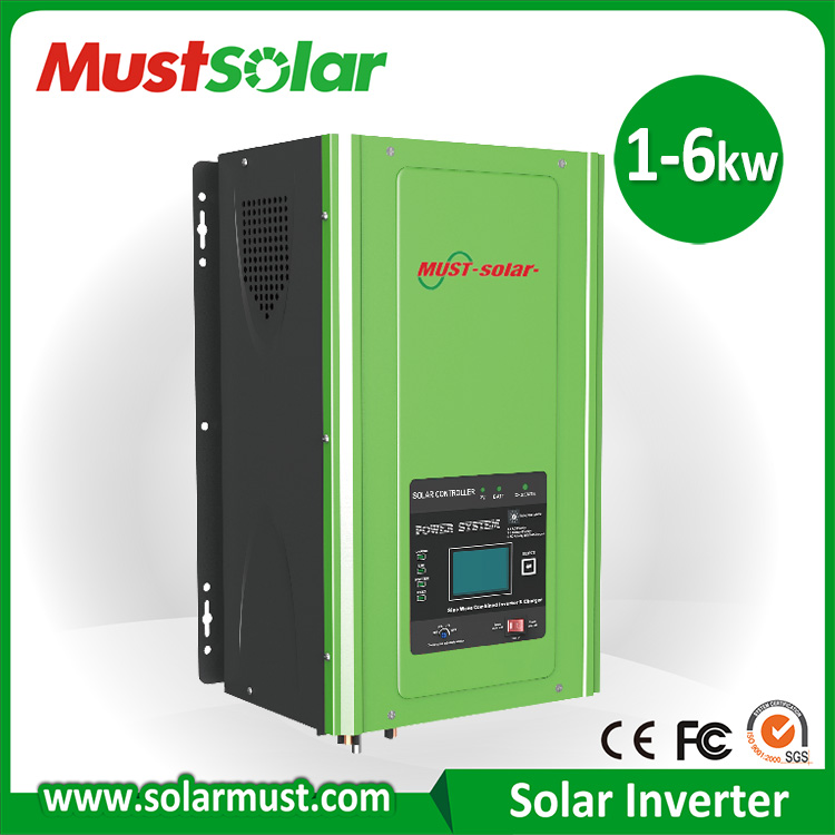 Intelligent Solar Inverter Rechargeable Power Inverter with AGS Function