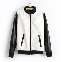 EY0128A Wholesale Fashin Dress Custom Women Clothing PU Leather Jacket or Motorcycle Leather Jackets for women