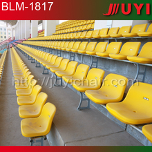 blow molding stadium red color anti-UV gym seat/factory price cheap stand seating stadium gym seating BLM-1817