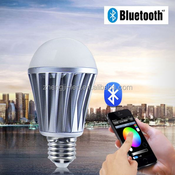 strange new products,led bulb housing mould control by SmartPhone