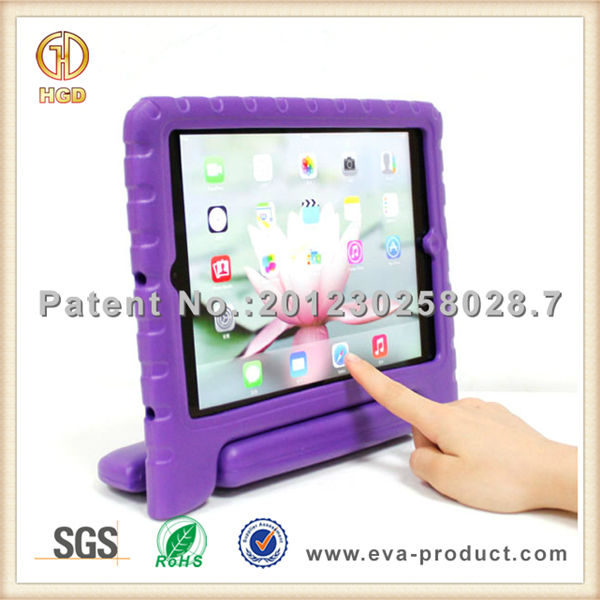 Kids EVA shockproof case for ipad air case with stand