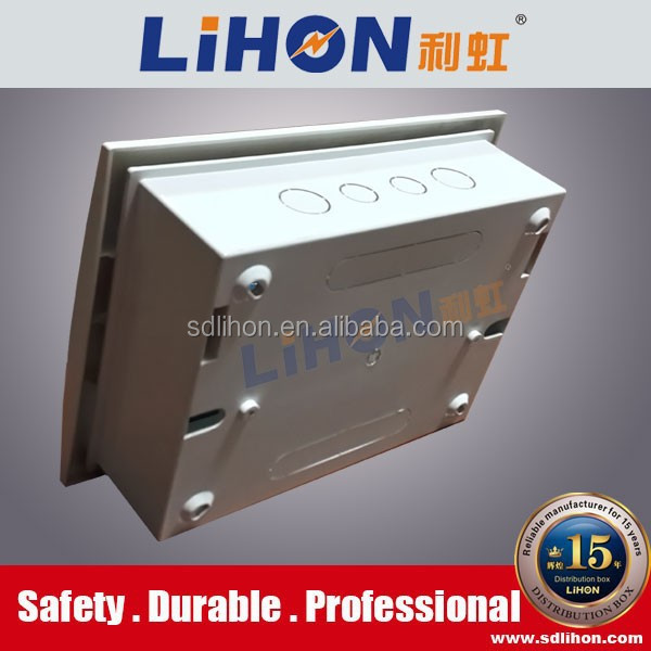 Flush mounting plastic electrical db box