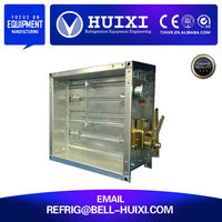 Mechanical Control Fire Damper for HVAC System