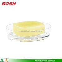 clear custom shell acrylic bathtub soap dish