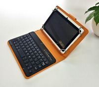 High quality mini portable Bluetooth Keyboard 3.0 with leather case