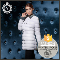 COUTUDI oem factory china white womens goose down jacket parka / wholesale parka jackets