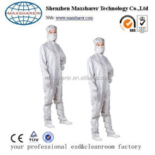Lint free ESD uniform