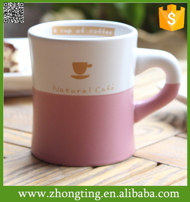 New design Personalize Hot sale love tea cups wholesale plain white ceramic mugs and cups