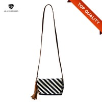 Small Wholesale Canvas bags PU Shoulder handbag