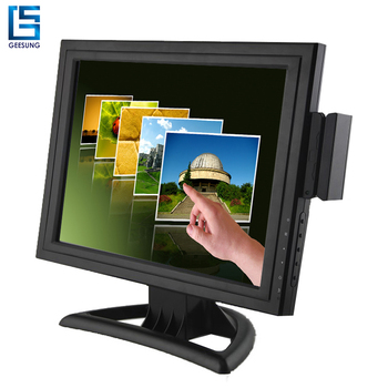 Multi-interface used 15 inch Rs232 touch screen monitor on sale