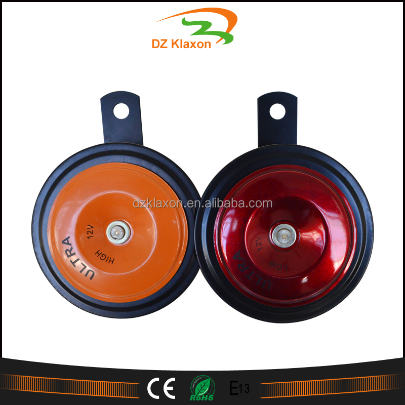 12V electric Round Sharp Tone car Horn with Relay for 4x4, UTE, SUV, Superbikes, Cars- Sharptone