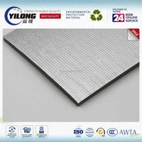 sheet steel structure buildings foil faced duct insulation sound reflective materials