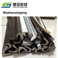 Weatherstrippings/PU Foam Self-Adhesive Seals for Steel Window Door