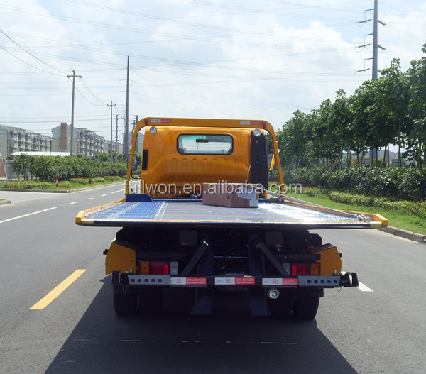 New Design towing truck flatbed recovery vehicle sale in India