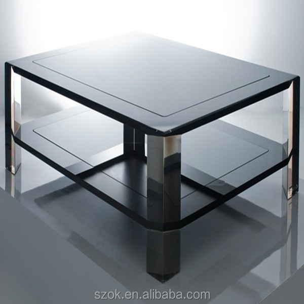 2015 exquisite clear acrylic office table