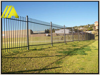 palisade black-006 hot sales simple and durable security fencing