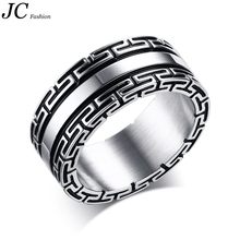 Stainless Steel Men's Great Wall Finger Ring Wholesale