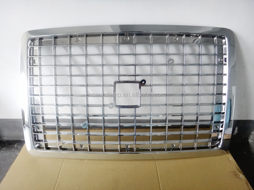 heavy duty truck volvo vnl truck parts radiator grille chrome grille buy volvo vnl grille