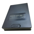 plastic 2.5 inch portable sata hard disk drive hdd enclosure with CE/Rohs