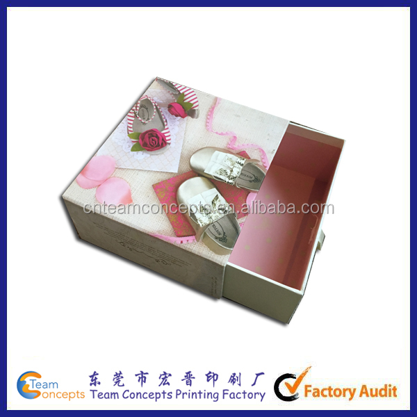 Rigid Paper Mini Brand Children Shoe Box