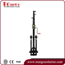 TourGo Wholesale Layer Truss Telescopic Lifting Tower with Removable Legs
