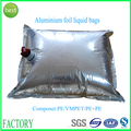Good quality durable aluminum foil liquid bag