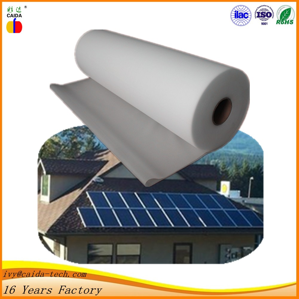 high transmittance pv backsheet hot melt adhesive eva film for solar cells