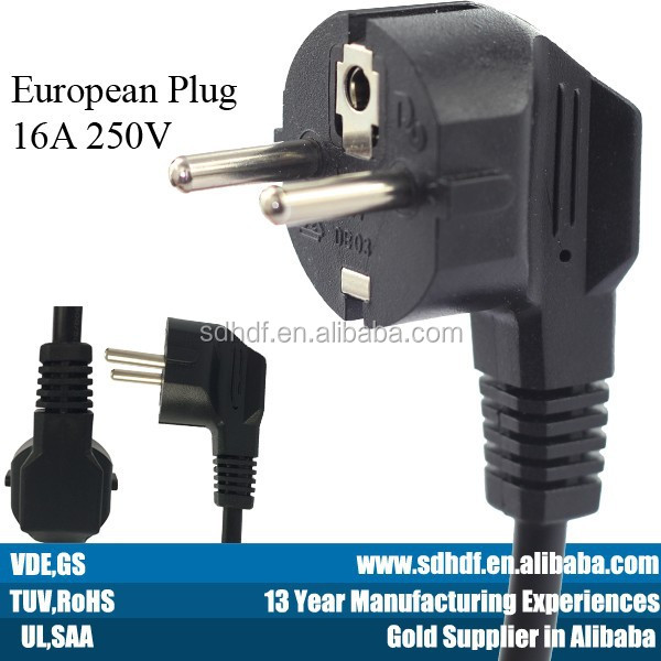 Home Appliance Extension Cable French Pipe Power Plug