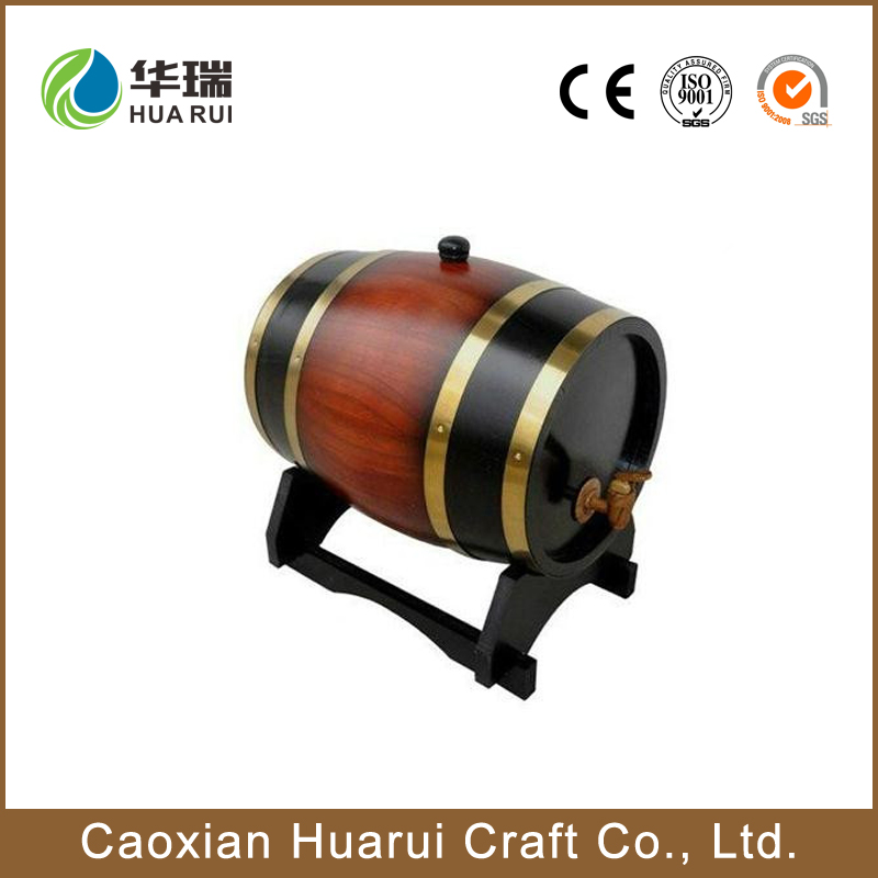 High quality OAK wooden wine whiskey barrels without inner